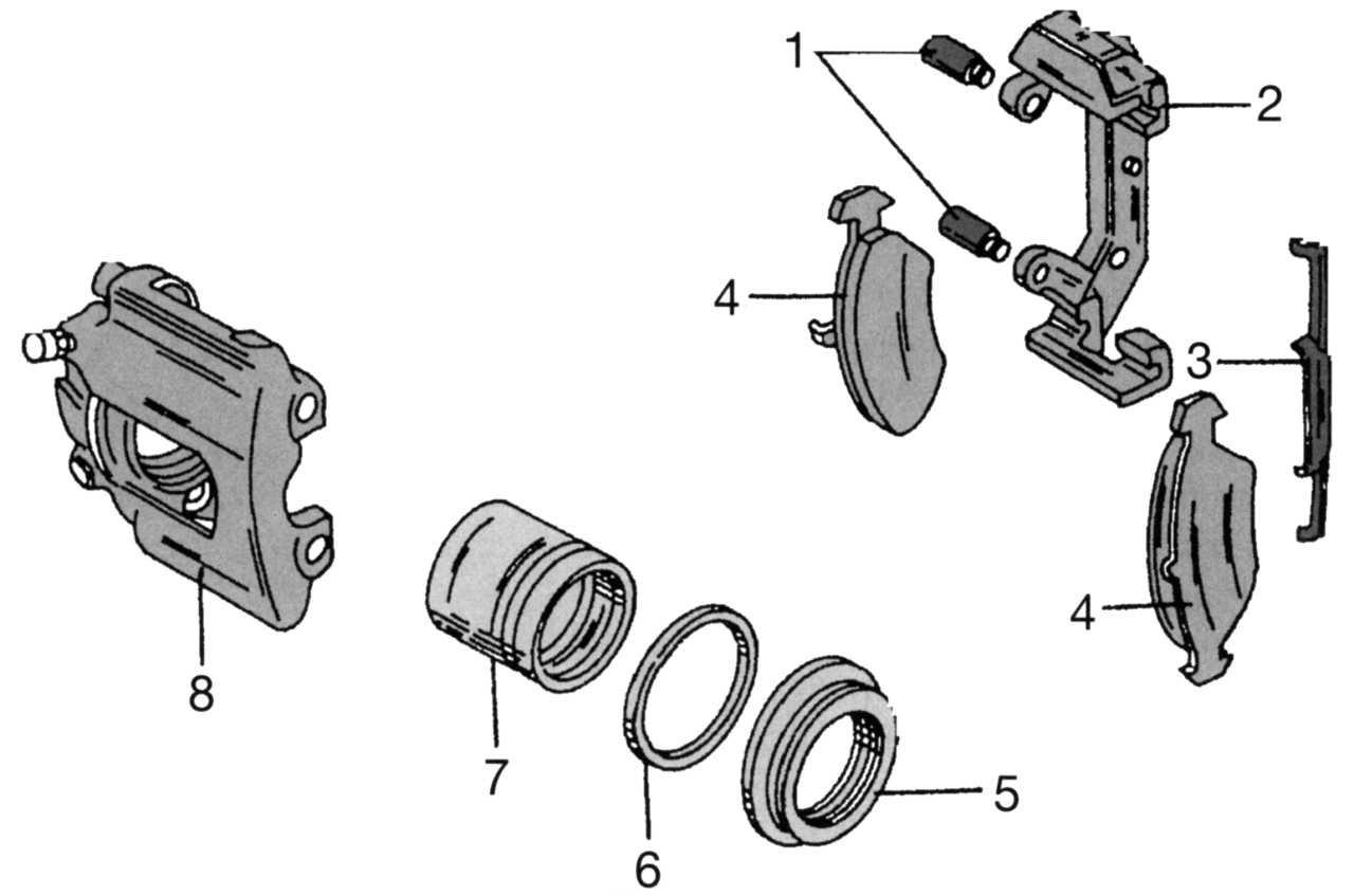 Ремкомплекты для суппортов форд Мондео 4 и Опель Зафира А