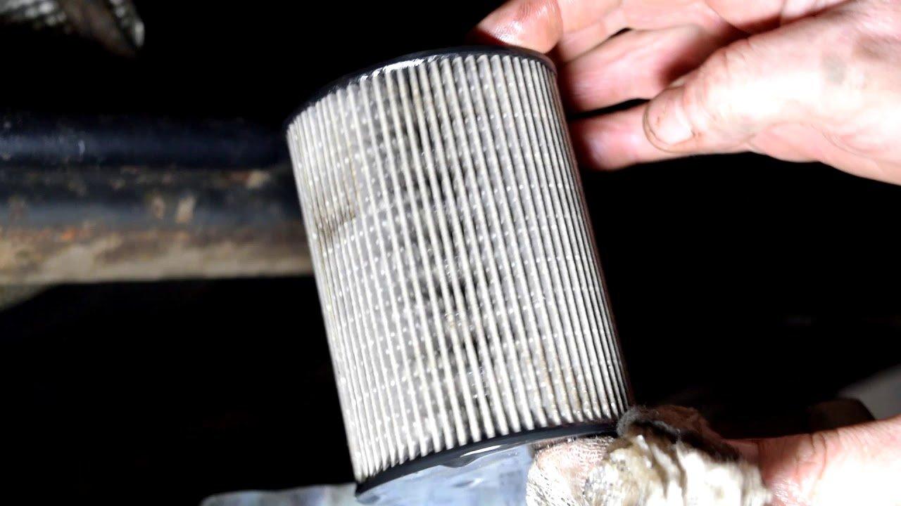 Как заменить топливный фильтр Форд Мондео 4 2.0TDCi