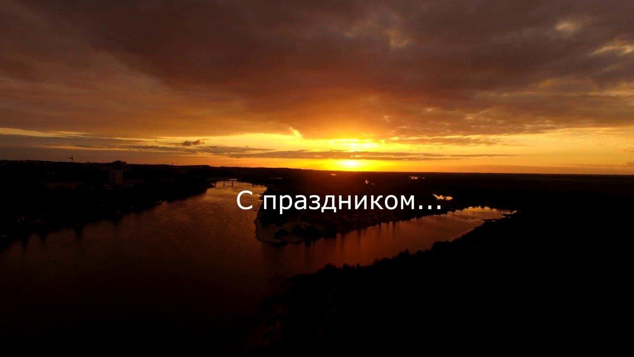 День Независимости 3 Июля 2017 г. Мозырь. Салют.