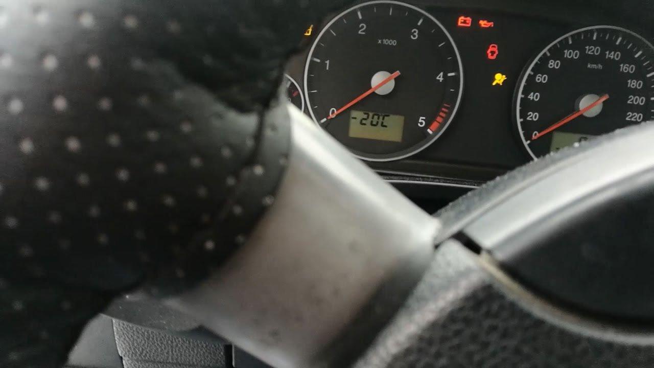 Заводим Форд Мондео 3 2,0 TDci в минус 20 мороза