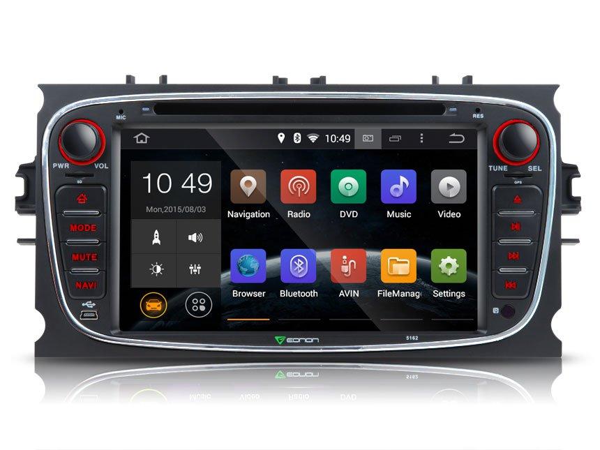 Ремонт, обзор автомагнитолы 2din Ford mondeo 4 Android 7