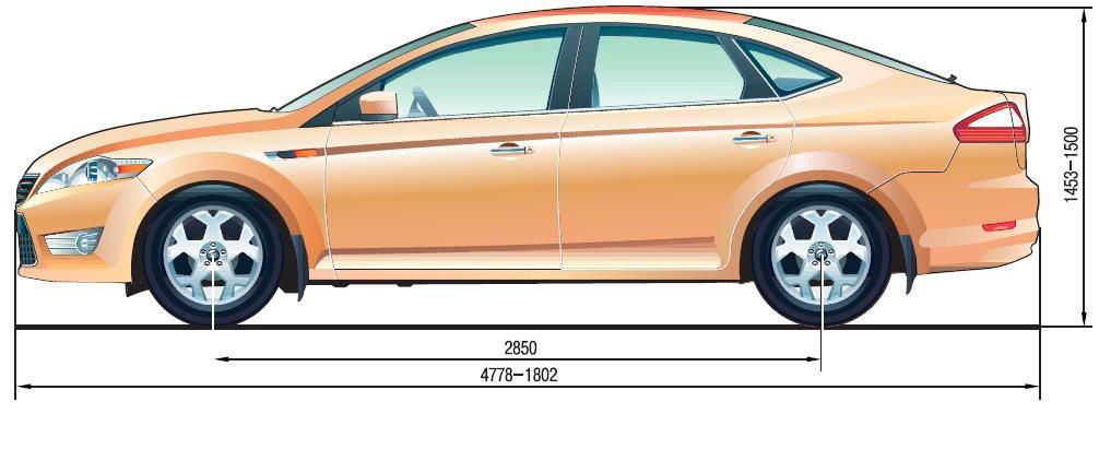 Ford Mondeo 4 Общие сведения об автомобиле